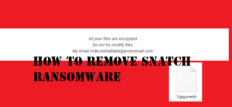 How to Remove Snatch Ransomware Virus from Your PC