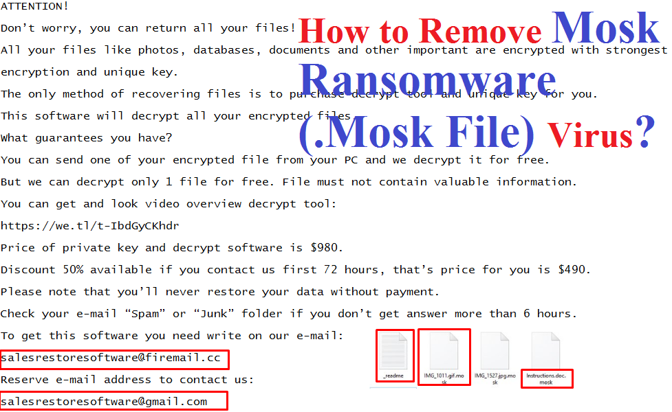 Mosk Ransomware